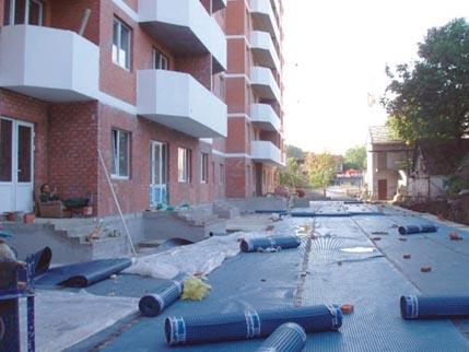 ГИДРОИЗОЛЯЦИЯ стяжки, отмостки, бетонной плиты
