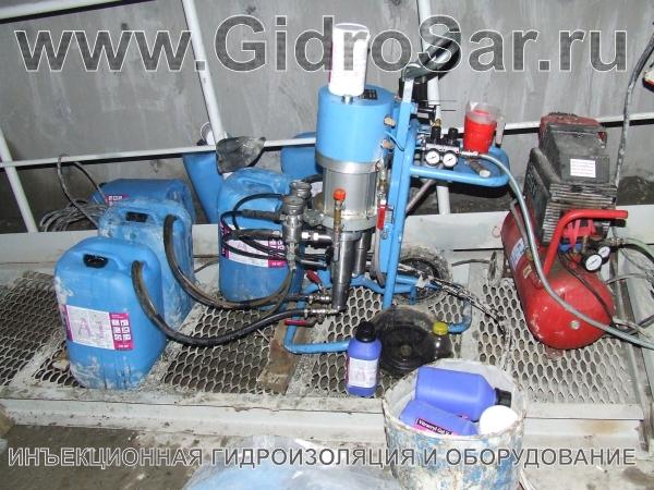 Гидроизоляция инъекциями в бетон Саранск