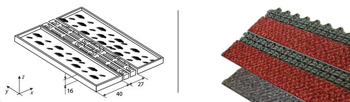 Модульные покрытия Integra