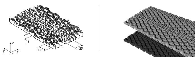 """Модульные покрытия """"Combo 16"""""""