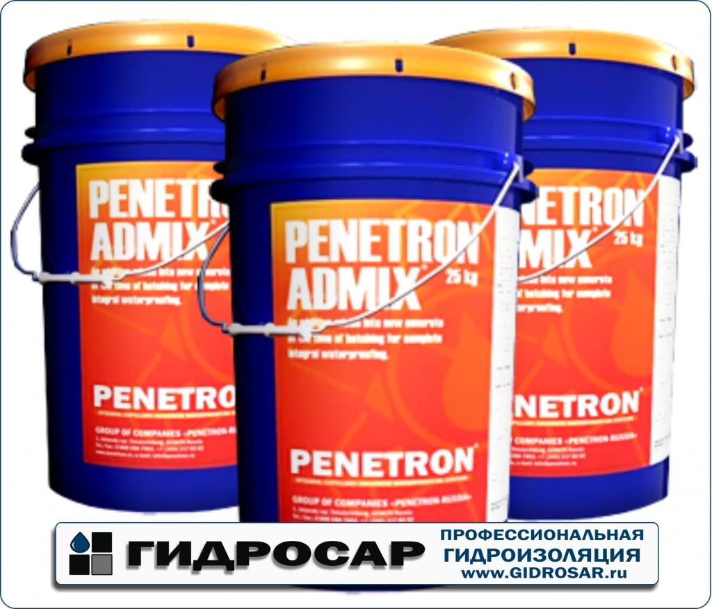 Гидроизоляция Пенетрон / Penetron применение ( www